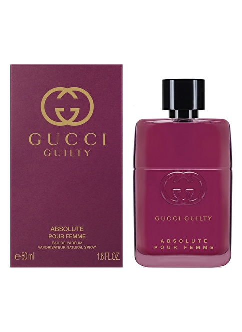 GUCCI Guilty Absolute Kadın Edp 50 Ml Renksiz